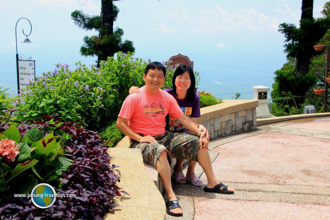 Tim and Chooi Yoke at The Regency Jerai Hills Resort