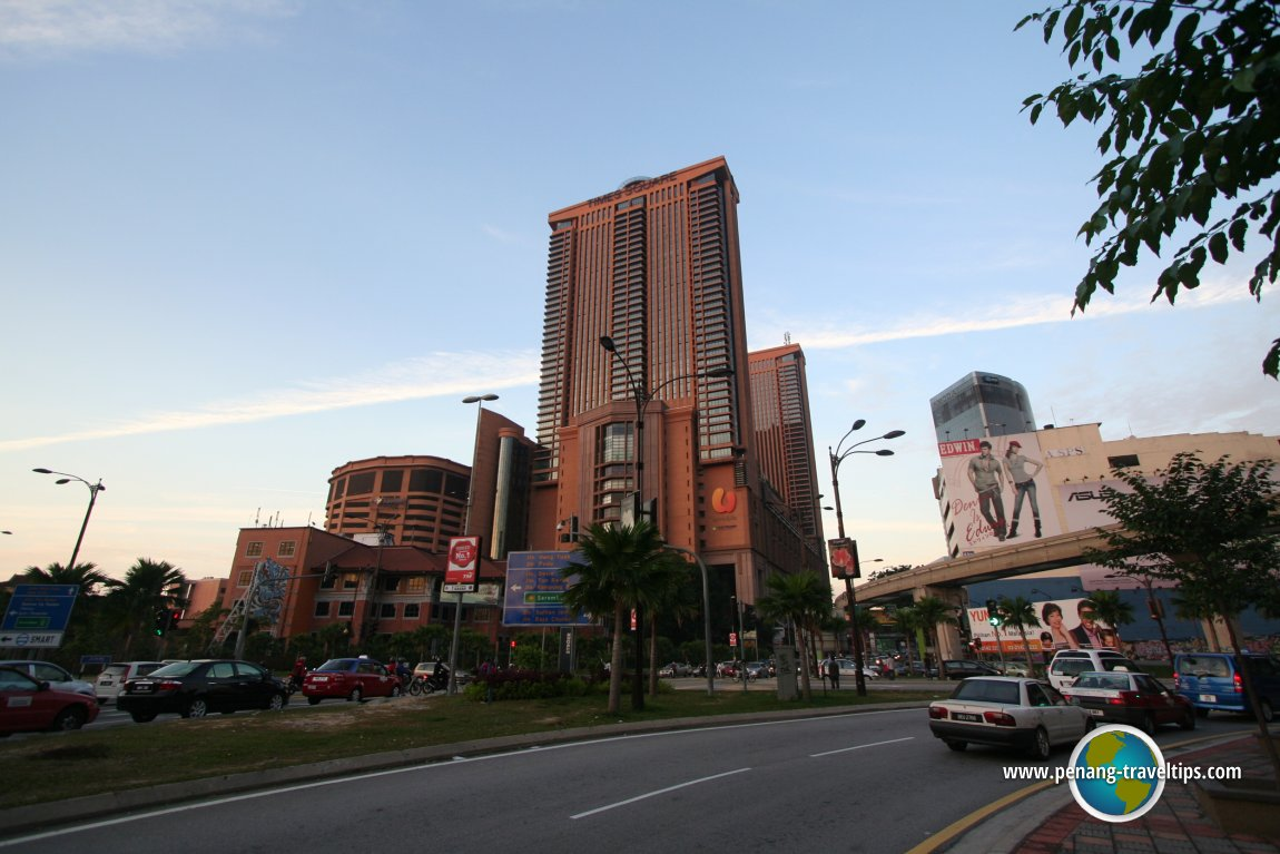 Jalan Imbi, at the intersection with Sultan Ismail and Kampung Pandan