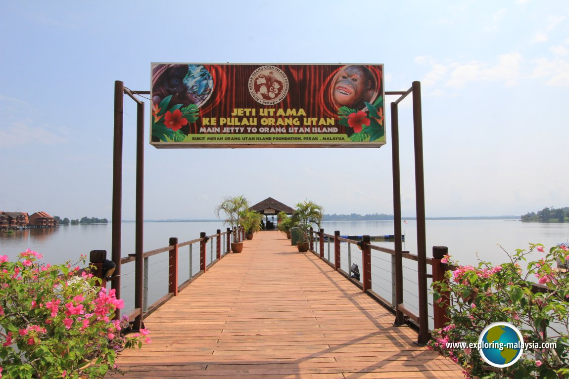 Jetty to Orang Utan Island