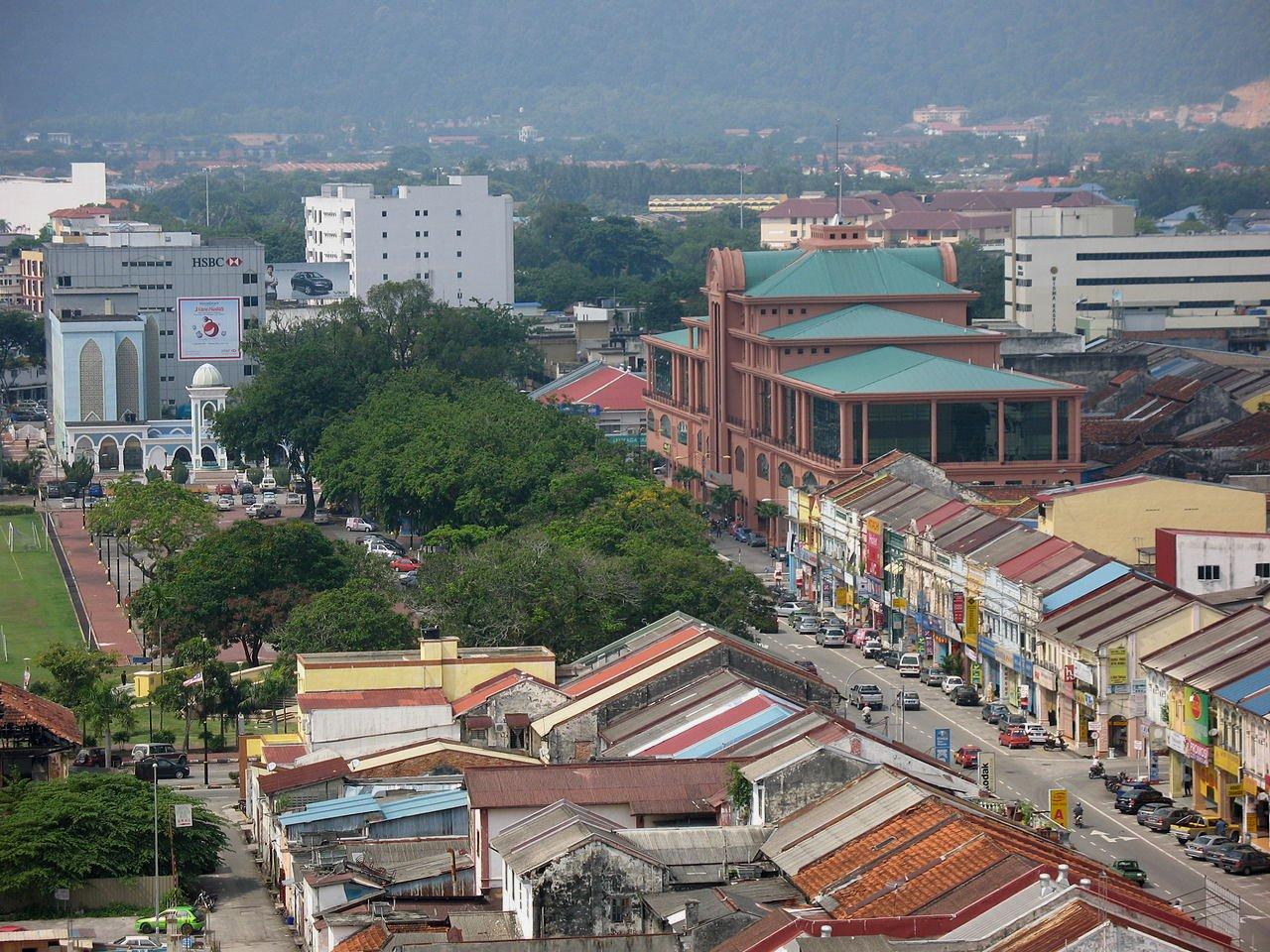View of Kuantan