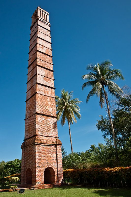 Labuan Chimney, Colliery Fields, Labuan
