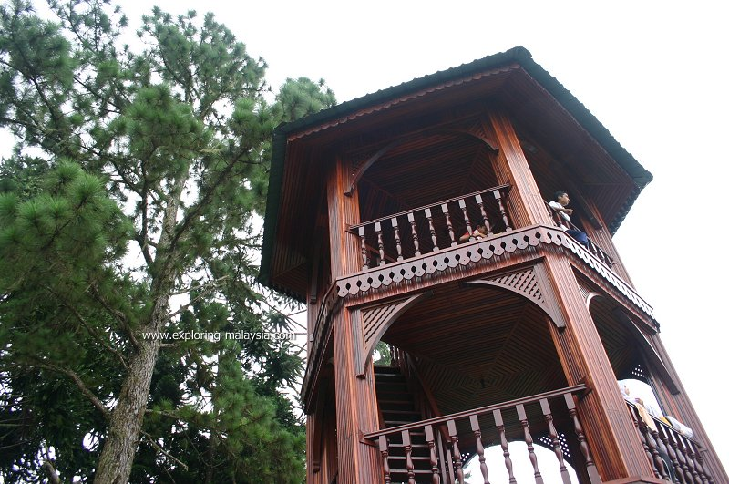 Look-out tower on Maxwell Hill