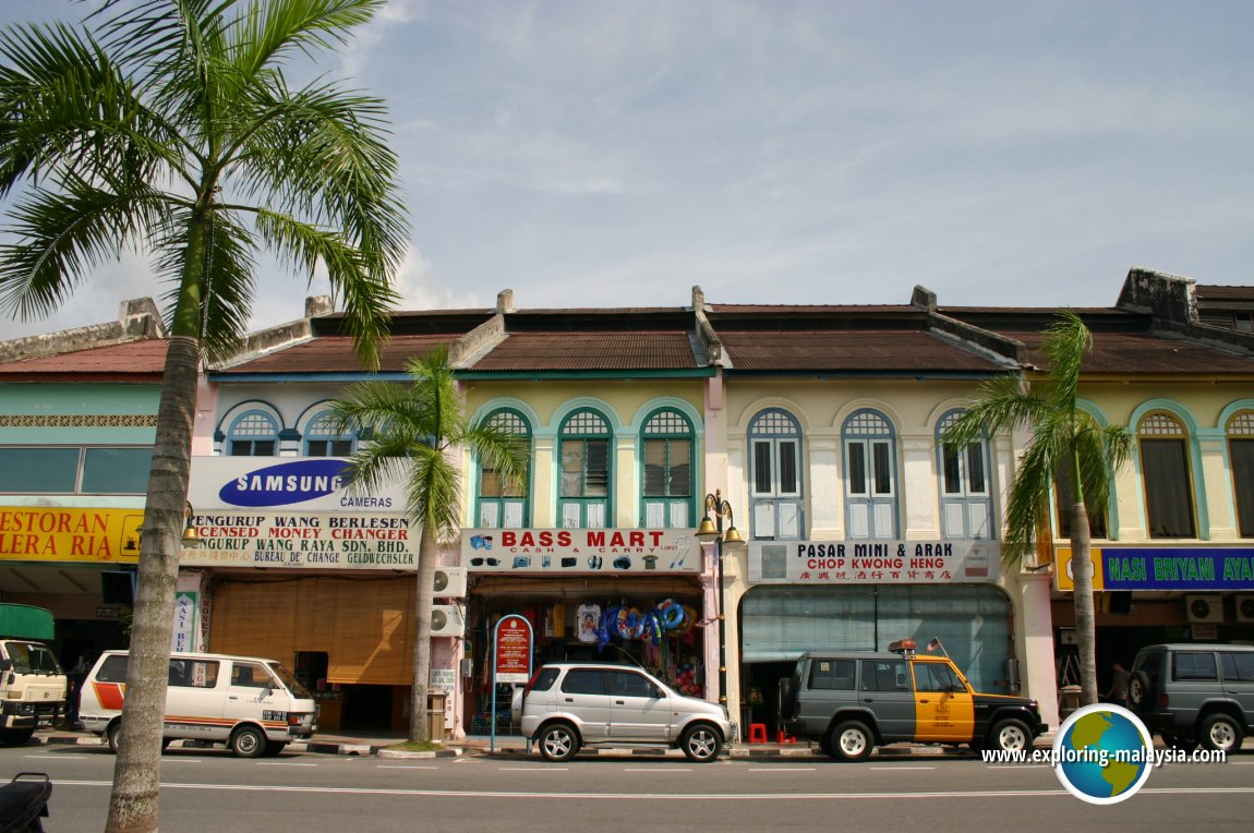 Shophouses in Lumut