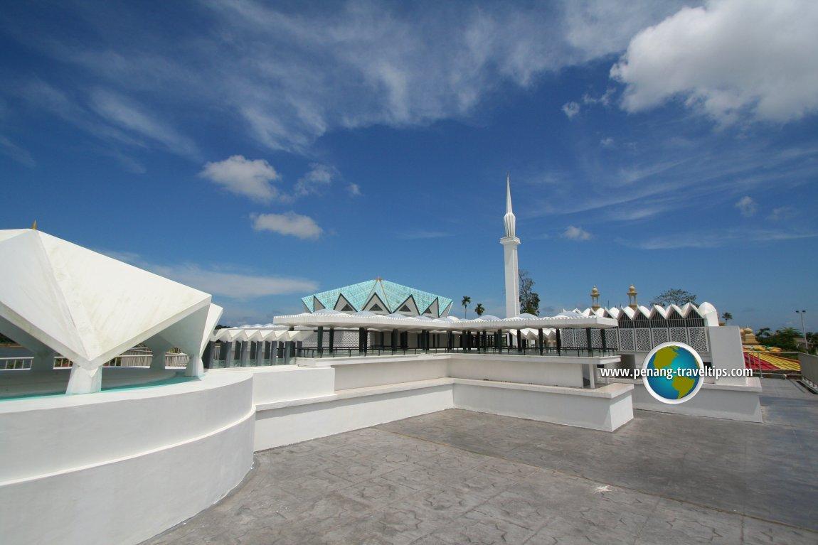 Replica of the National Mosque at Taman Tamadun Islam, Kuala Terengganu