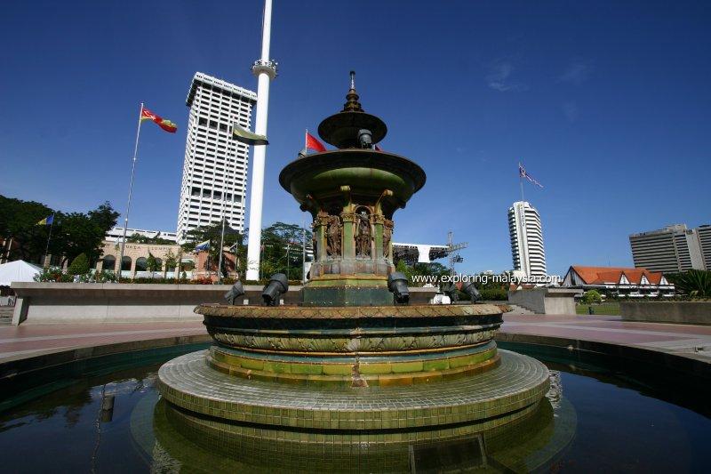 Merdeka Square Fountain