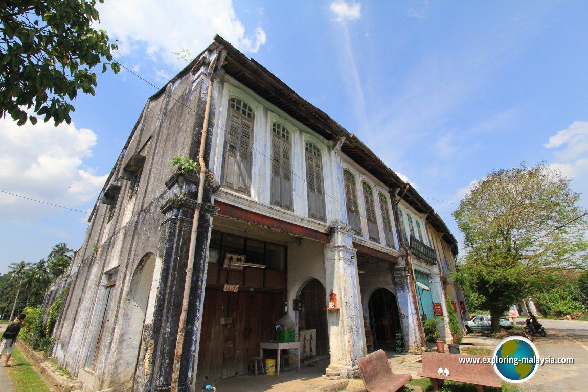 Old houses in Papan, Perak