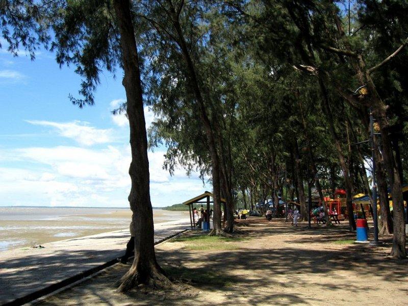 The beach at Port Dickson