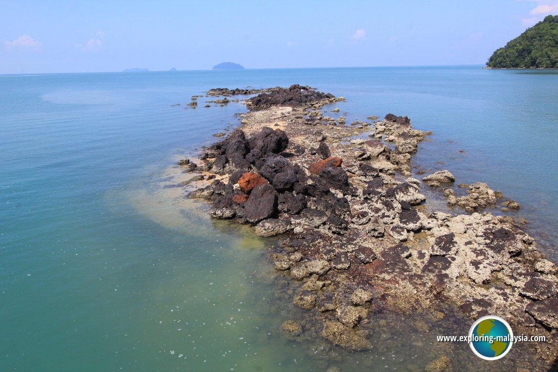Reef off Pulau Bunting