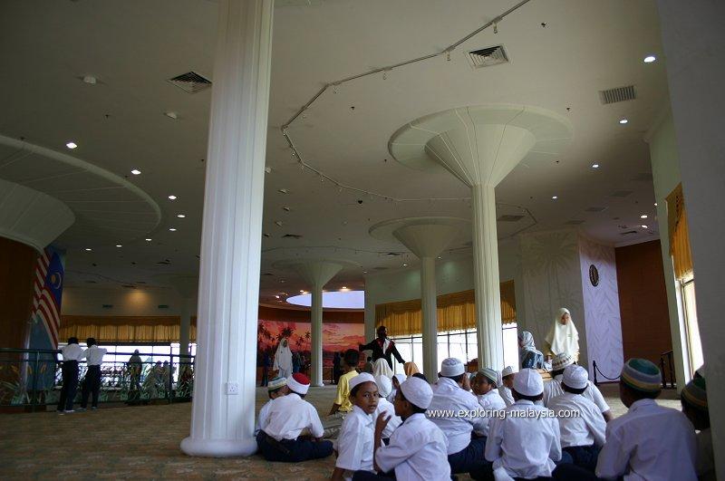 Interior of the Rice Museum
