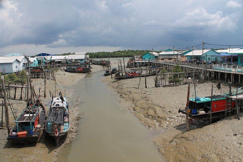 River at Pulau Ketam