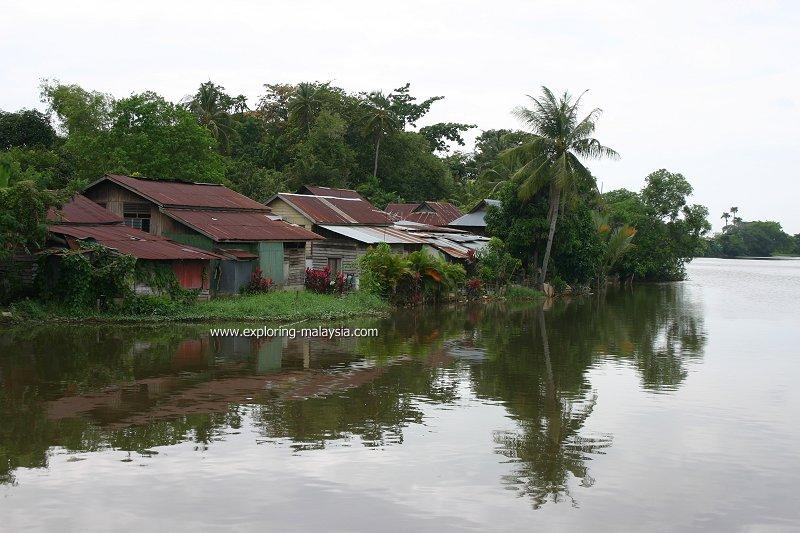Riverside village, Alor Setar