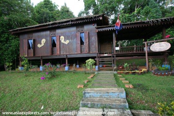 Rumah Johor, Taman Mini Malaysia