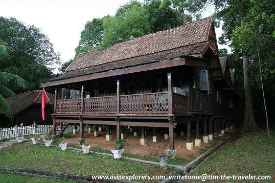 Rumah Kelantan, Taman Mini Malaysia