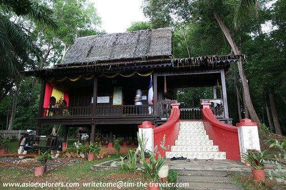 Rumah Melaka, Taman Mini Malaysia