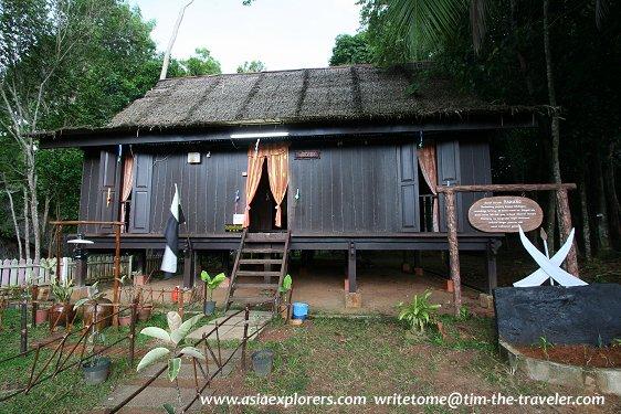 Rumah Pahang, Taman Mini Malaysia