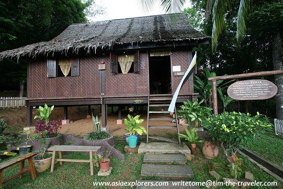 Rumah Perak, Taman Mini Malaysia