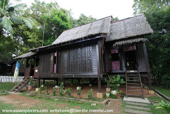 Rumah Pulau Pinang, Taman Mini Malaysia