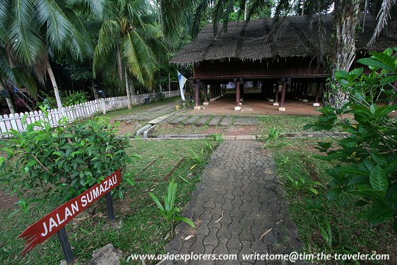 Rumah Sabah, Taman Mini Malaysia