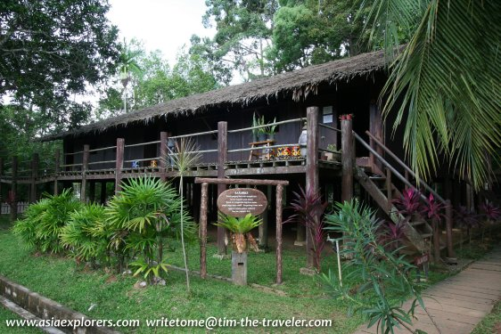 Rumah Sarawak, Taman Mini Malaysia