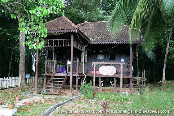 Rumah Terengganu, Taman Mini Malaysia