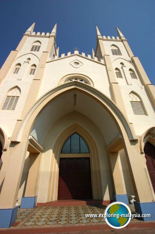 Church of St Francis Xavier, Malacca