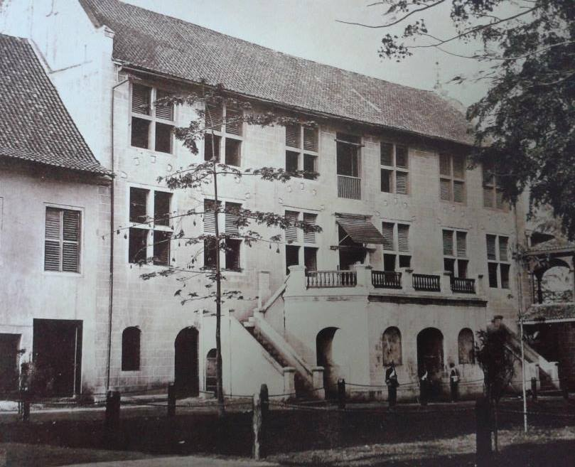 The Stadthuys circa 1869