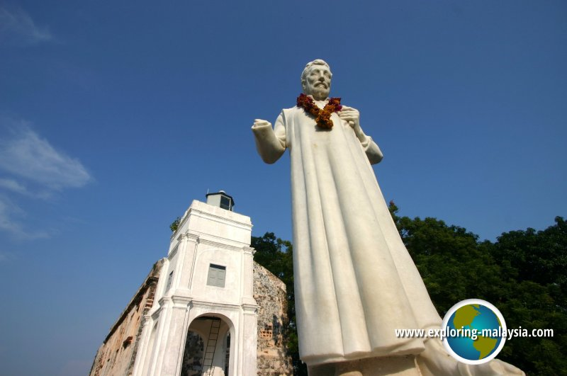 Statue of St Francis Xavier