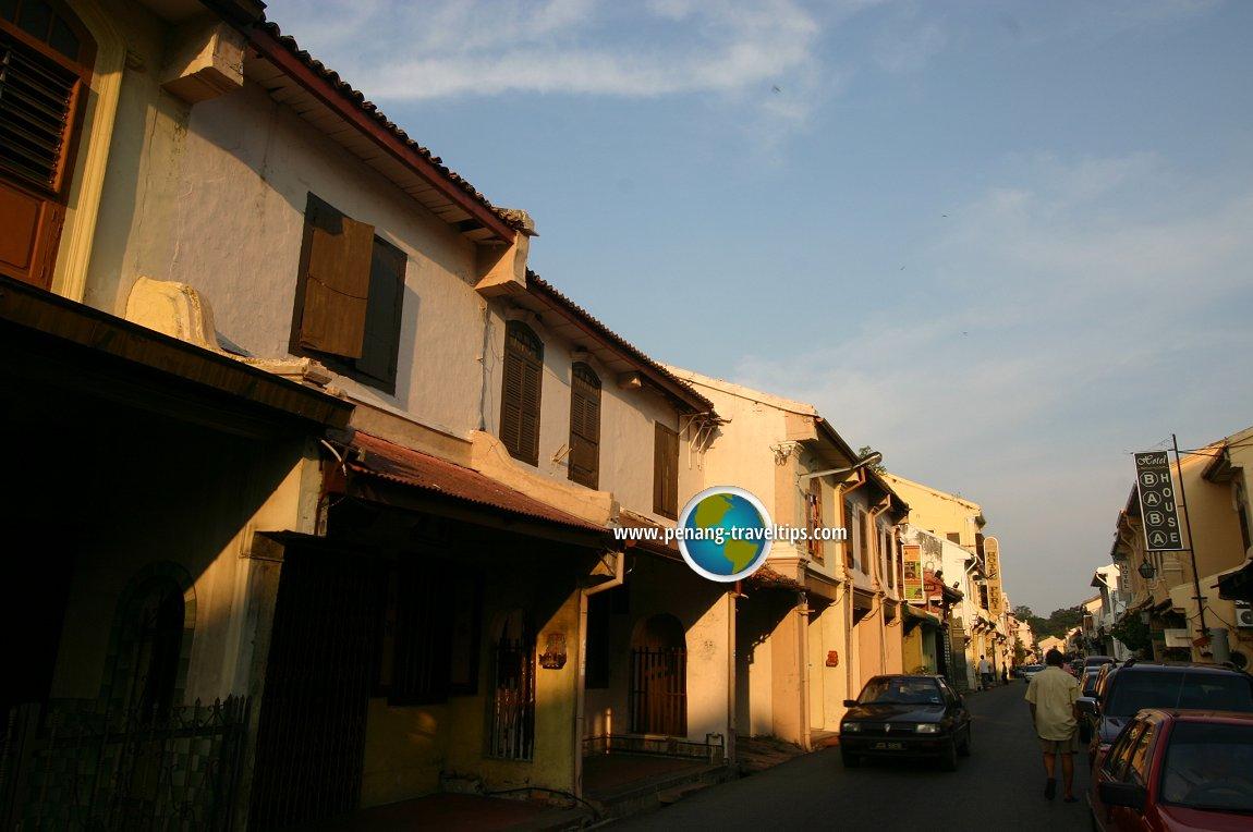 Street in Malacca