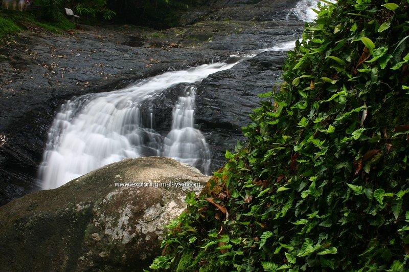 The waterfall at Sungai Sedim Recreational Forest, Kedah