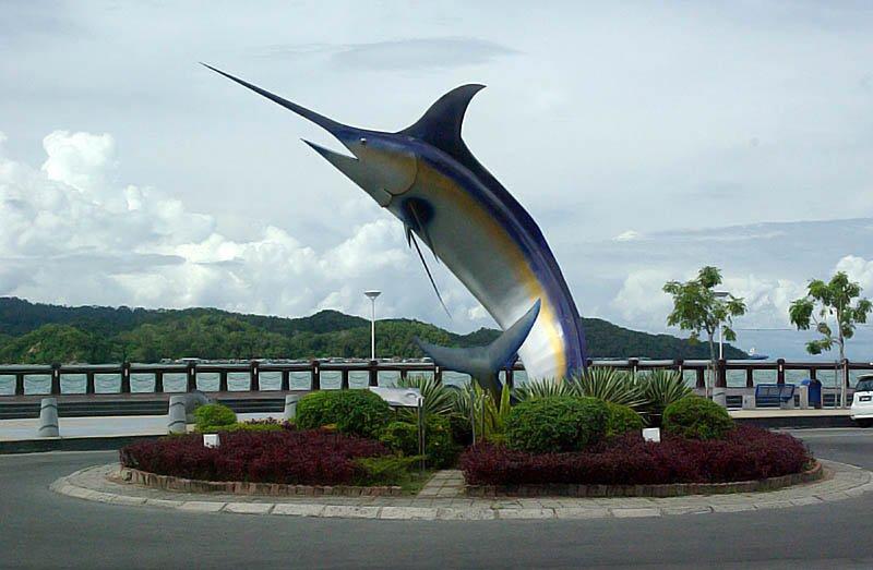 Swordfish Monument, Kota Kinabalu