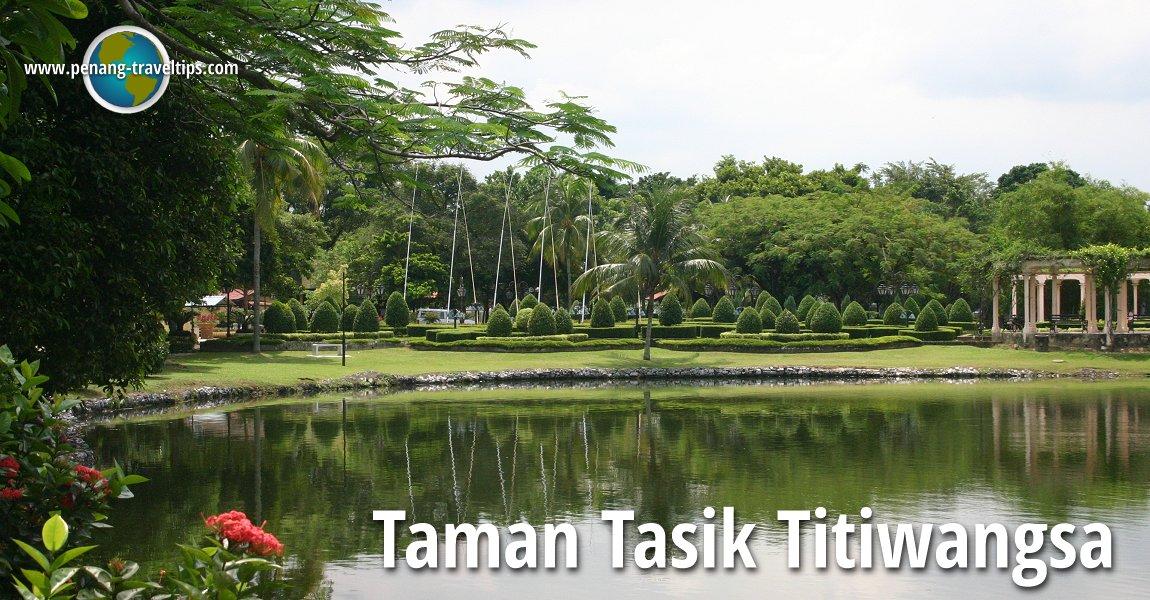 Taman Tasik Titiwangsa
