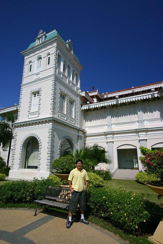 Tim at Istana Ulu, Kuala Kangsar