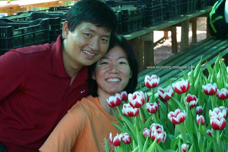 Tim and Chooi Yoke on Maxwell Hill