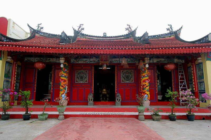 Tin Hin Kong Temple, Kampung Cina, Kota Bharu