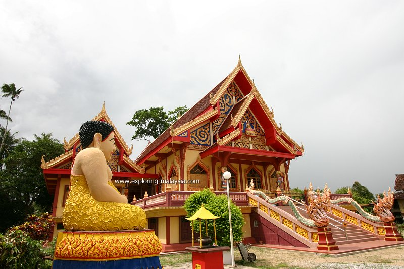 Wat Puchumthat Chanaram, Jong Bakar, Tumpat
