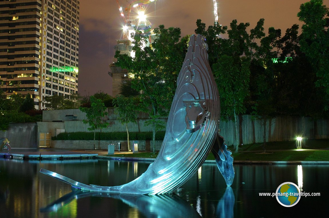 Whale sculpture, KLCC Park