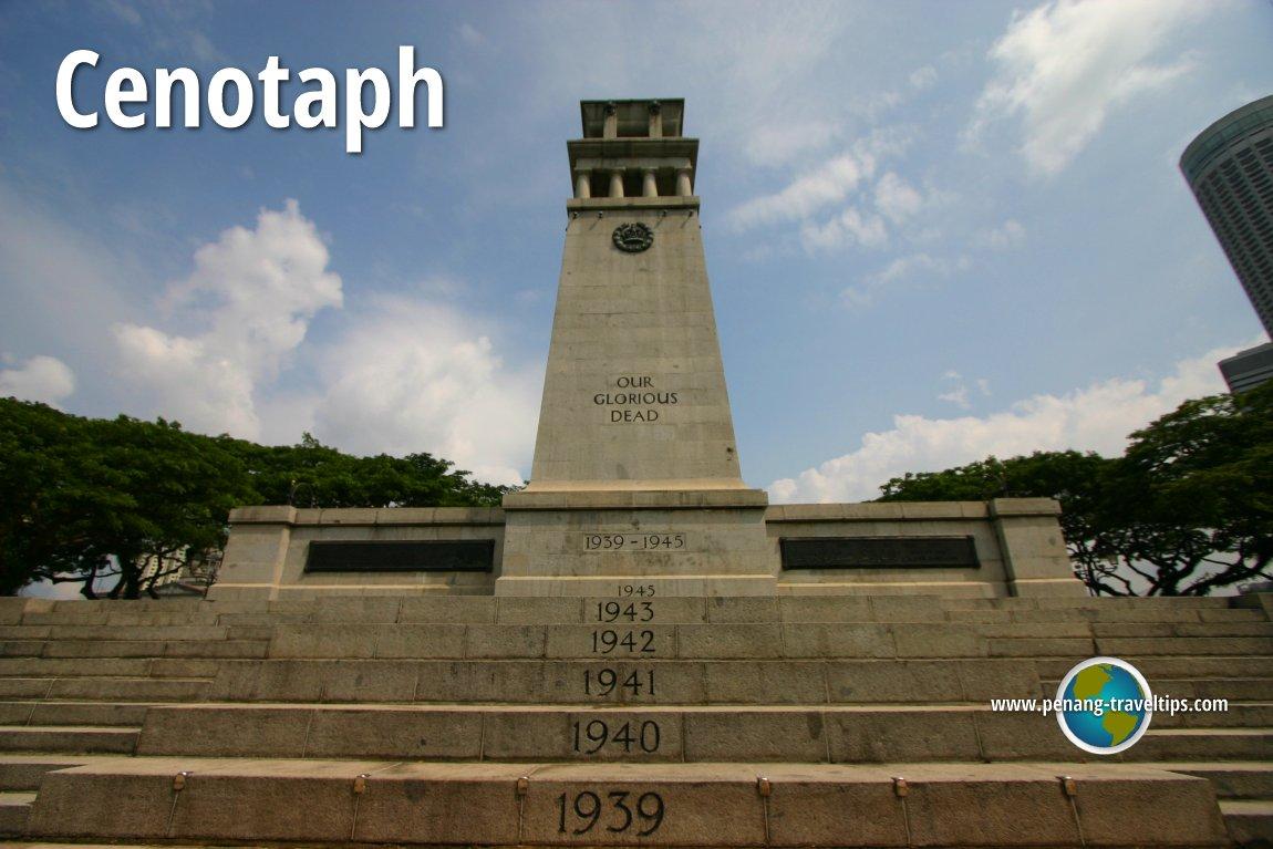 Cenotaph  Singapore World War I Monument  Singapore