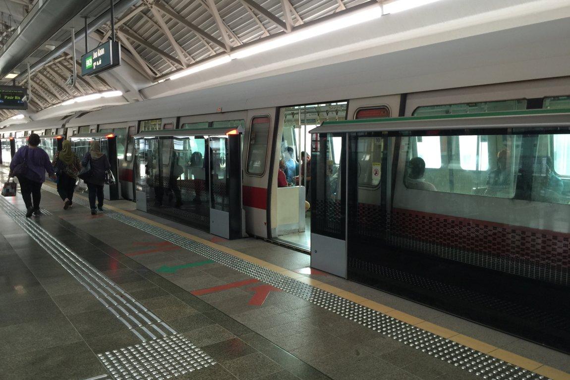 Joo Koon MRT Station EW29 Singapore