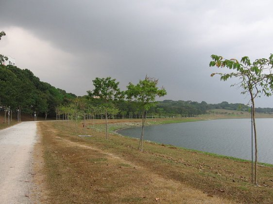 Bedok Reservoir Park, Singapore