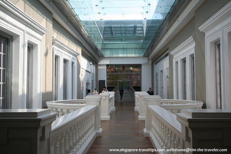 Glass Atrium National Museum Of Singapore