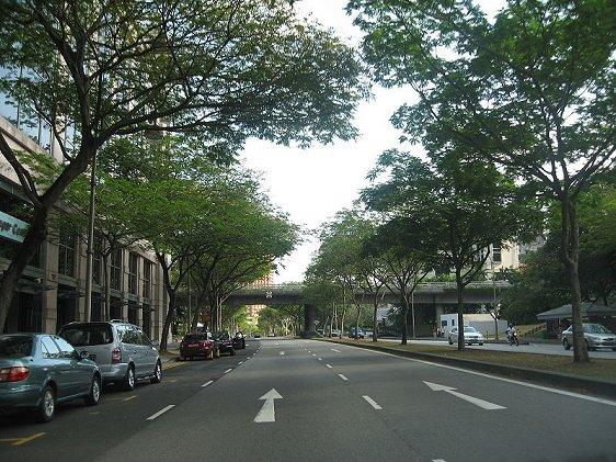 Clemenceau Avenue