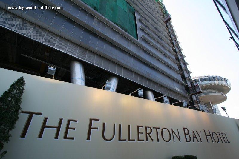 Fullerton Bay Hotel, Singapore