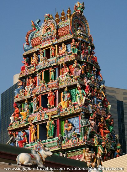 Gopuram of the Sri Mariamman Temple
