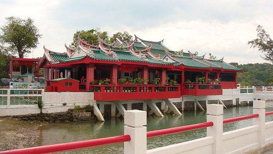 Kusu Island's Tua Pek Kong Temple
