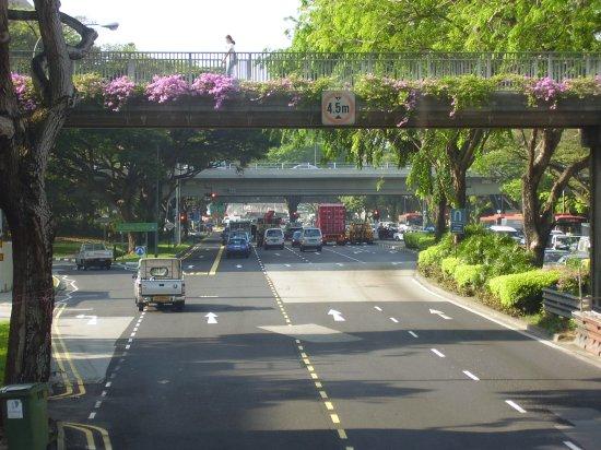 Interchange of Paya Lebar Road and Pan Island Expressway