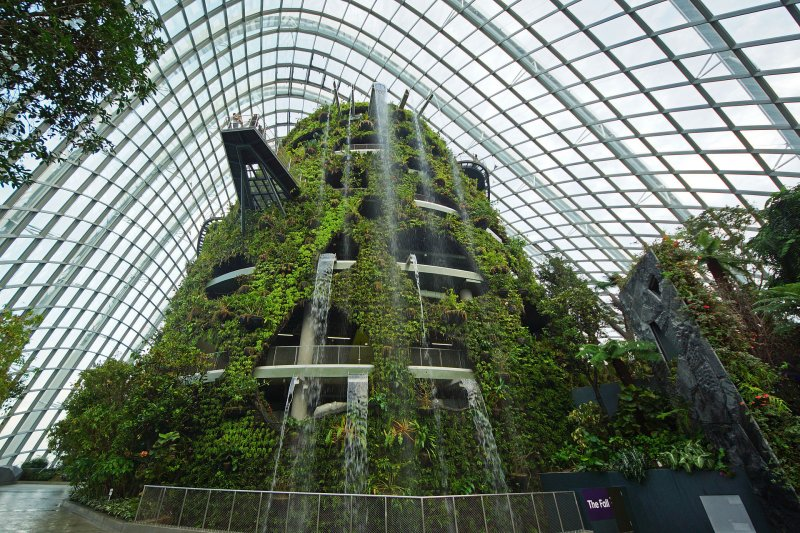 The Fall, Gardens by the Bay
