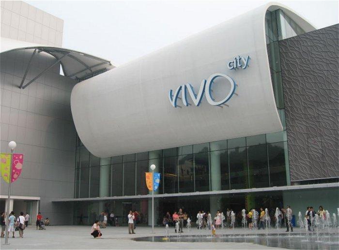 VivoCity entrance