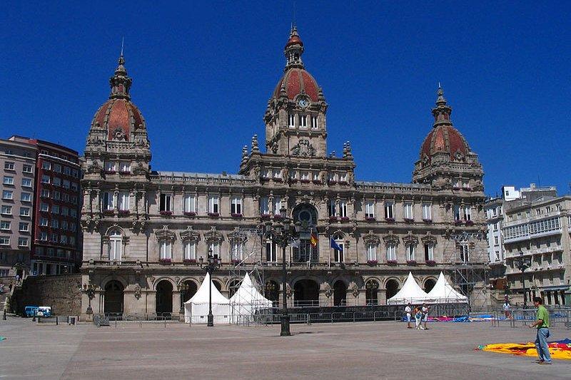 City Hall of A Coruña, Spain