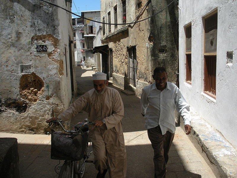 Alleyway in Zanzibar City, Tanzania