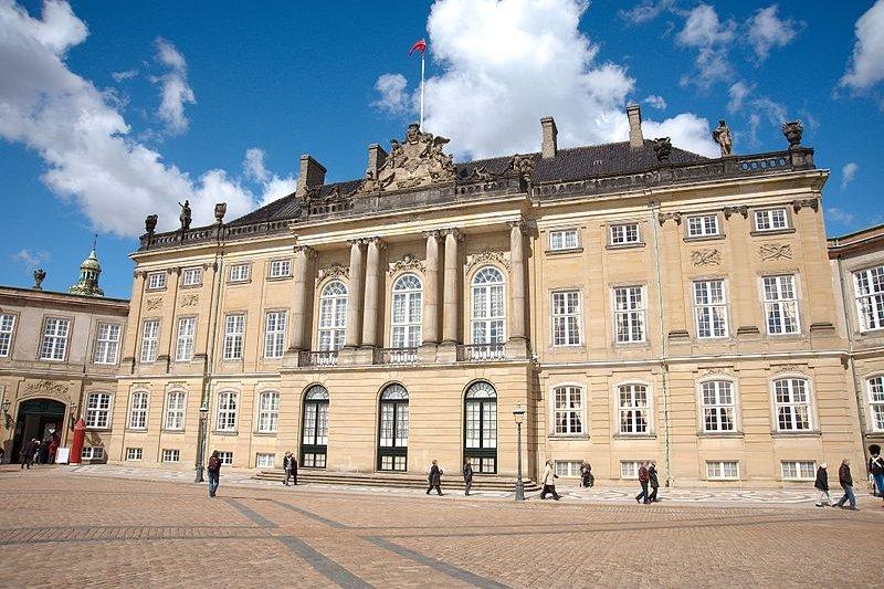 Amalienborg Palace, Denmark